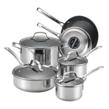 Circulon Genesis Stainless Steel Non-Stick 10-pc Cookware Set