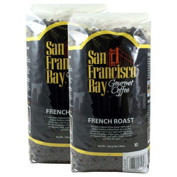 San Francisco Bay French Roast Whole Bean Coffee 3 lb. / 2-pack