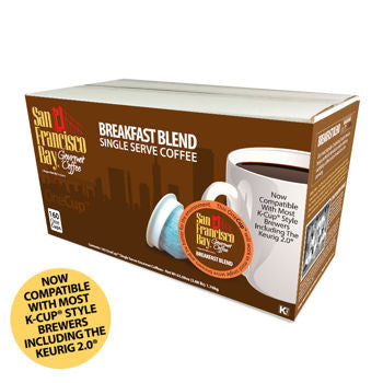 San Francisco Bay Breakfast Blend 160 OneCup