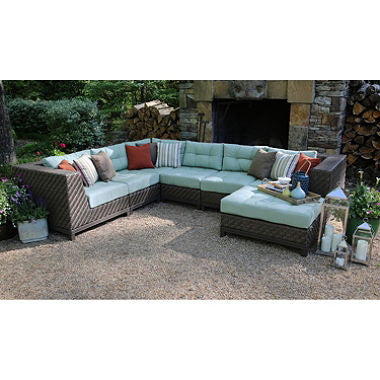 Dawson 7-Piece Sectional with Sunbrella Fabric