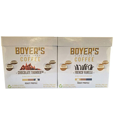 Boyer's Coffee Variety Pack (72 K-Cups)