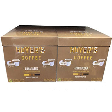 Boyer's Coffee Kona Blend (72 K-Cups)
