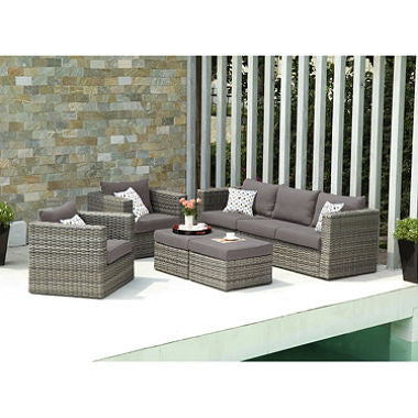 Harlow Outdoor Deep Seating 5-Piece Set