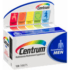 Centrum Multivitamin/Multimineral Supplement - Men 120 ct