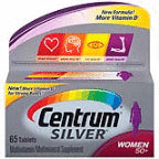 Centrum Silver Women 50+ Vitamins 65 ct