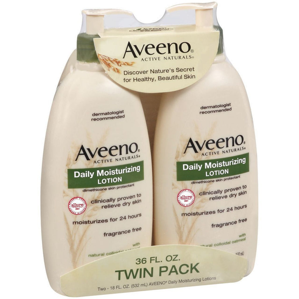 Aveeno Active Naturals Lotion - 2 Pack - 18 oz each