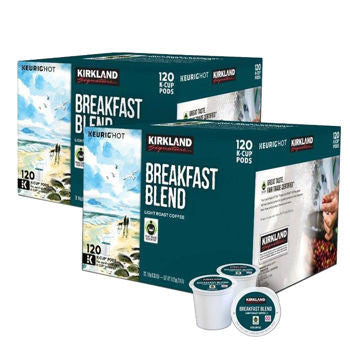 Kirkland Signature Breakfast Blend Coffee 240 K-Cup Pods