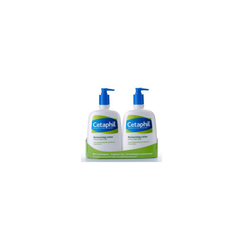 Cetaphil Moisturizing Lotion Pumps - 2 Pack - 20 oz each