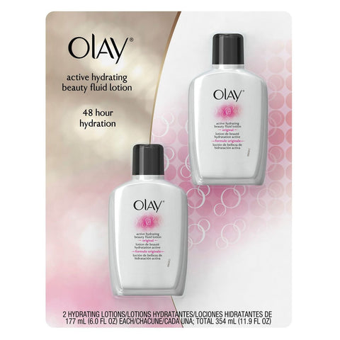 Olay Original Active Hydrating Lotion - 6 oz. bottles - 2 Pack