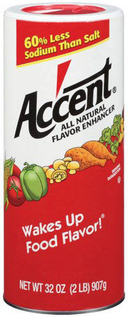 Accent All Natural Flavor Enhancer, 32 oz.