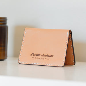The Perfect Groomsmen Gift - Personalized Custom Leather Wallets