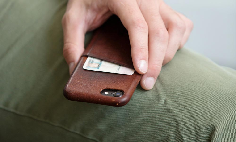 Wallet Phone Case Leather