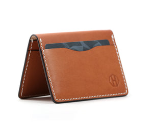 Saddle Tan Bifold Wallet
