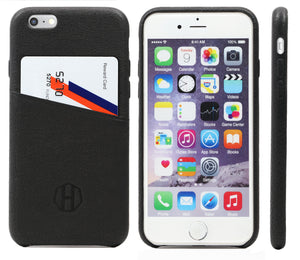 Black Wallet Card Holder Case iPhone 6 Case