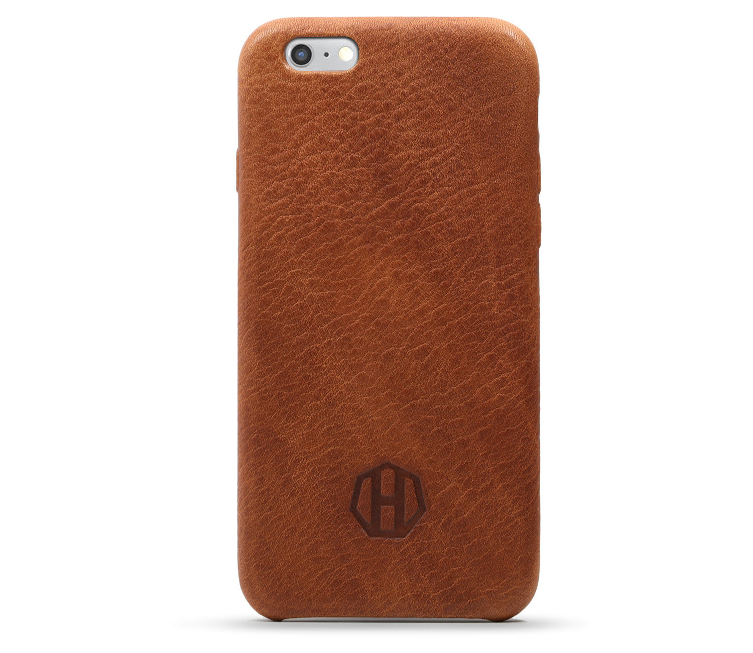 new styles cb207 a1e77 Brown Leather iPhone 6/6S PLUS Case