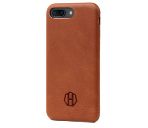 Leather iPhone Slim Case / Brown