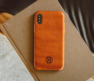 IPHONE X LEATHER CASE - SLIM
