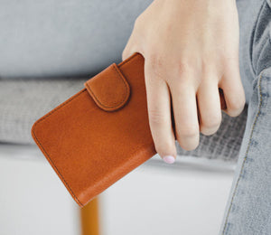 Flip Wallet Leather iPhone Case
