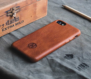 Brown Leather iPhone 6/6S PLUS Case