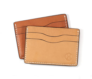 Personalized 5 Pocket Leather Card Wallet