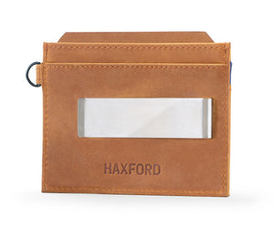 Money Clip Leather Wallet - Gym Wallet