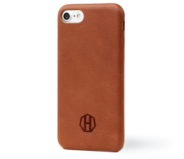Haxford Brown Leather iPhone 7 Slim Case