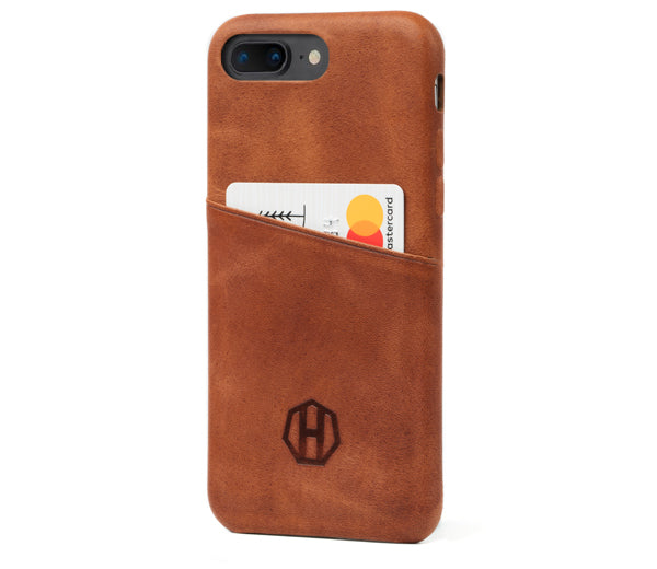 sale retailer 6ffa8 a9bbd iPhone 7 Plus Leather Wallet Cases - Luxury iPhone Cases | Haxford