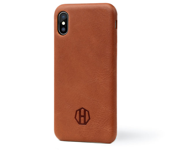 Slim Leather Apple iPhone X Leather Case