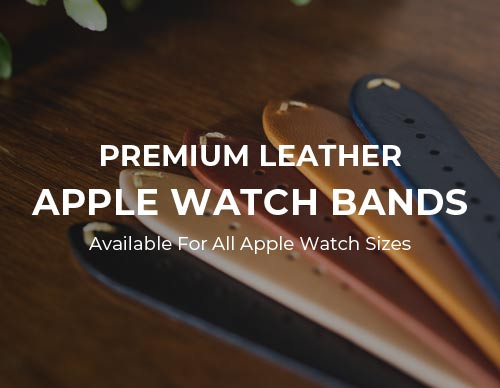 Haxford Leather Apple Watch Bands