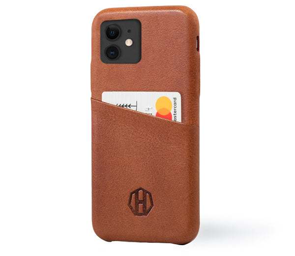 Leather iPhone 11 Wallet Case