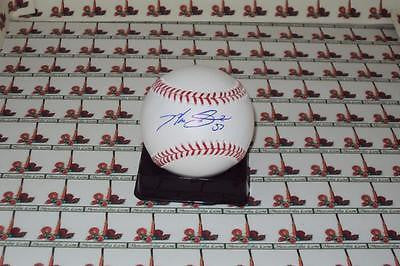 Max Scherzer Cy young NATIONALS autographed OML baseball COA Memorabilia Lane