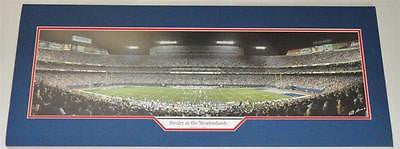 Rivalry NY Giants & NY Jets meadowlands panoramic Matted Photo Memorbilia Lane & Promotions