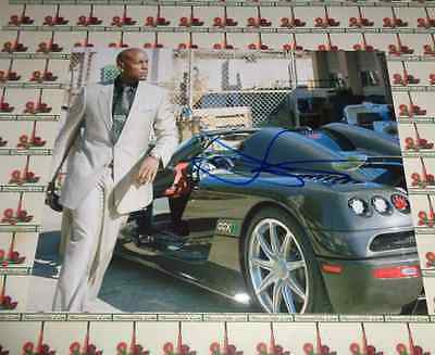 Tyrese Gibson FAST & FURIOUS autographed 8x10 COA Memorabilia Lane & Promotions