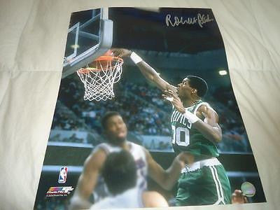 Robert Parish autograph 16x20 COA Memorabilia Lane