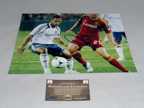 Kenny Walker LA GALAXY autograph 8x10 COA Memorabilia Lane & Promotions