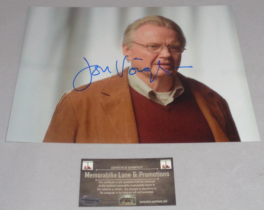 Jon Voight autograph 8X10 PHOTO COA Memorabilia Lane