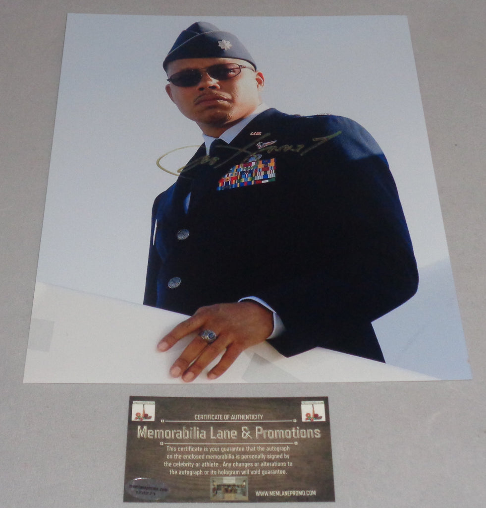 Terrance Howard Autographed 8x10 EMPIRE Iron Man War Machine COA Memorabilia Lane & Promotions