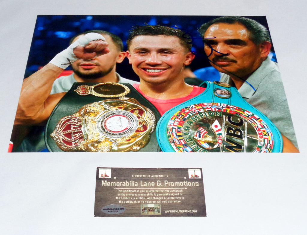 BLACK FRIDAY CLOSE OUT Abel Sanchez autograph 8x10 photo COA Memorabilia Lane & Promotions