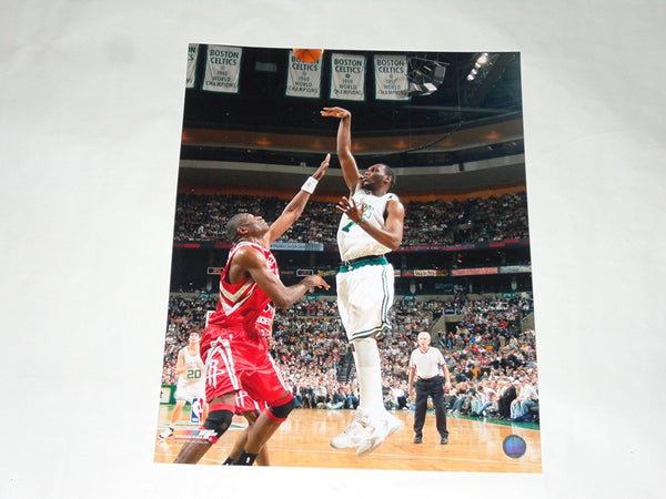 Al Jefferson unsigned 16x20 photo Boston Celtics Memorabilia Lane & Promotions