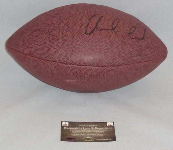 Andrew Luck COLTS autograph football COA Memorabilia Lane & Promotions