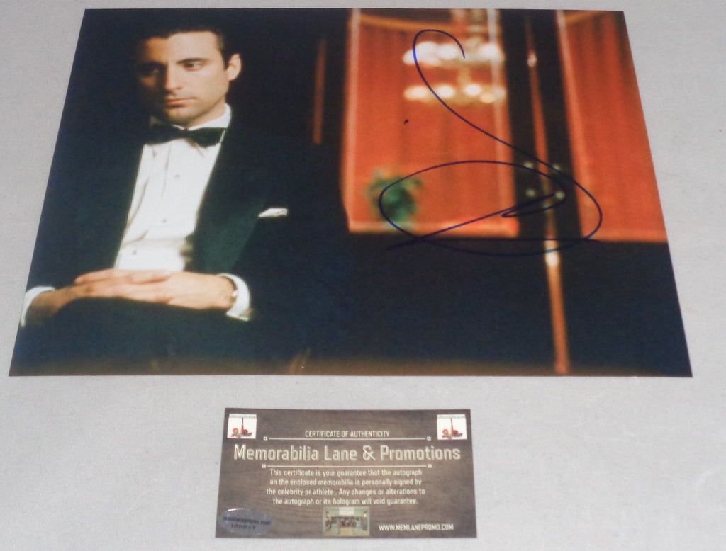 BLACK FRIDAY CLOSE OUT Andy Garcia GODFATHER III Autograph 8x10 COA Memorabilia Lane & Promotions
