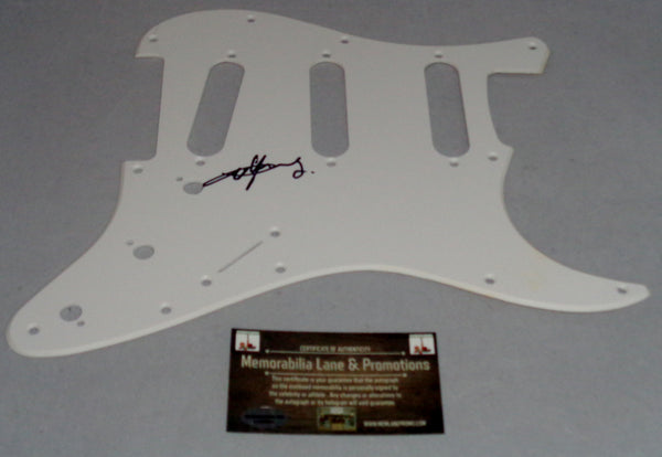 Angus Young (ACDC) Autographed Pick Guard COA Memorabilia Lane & Promotions