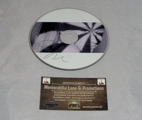 Ariana Grande autograph CD (My Everything) COA Memorabilia Lane & Promotions