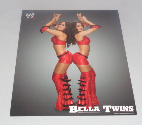 Bella Twins Brie & Nikki SLIGHT CREASES UNSIGNED 8x10 WWE Memorabilia Lane & Promotions