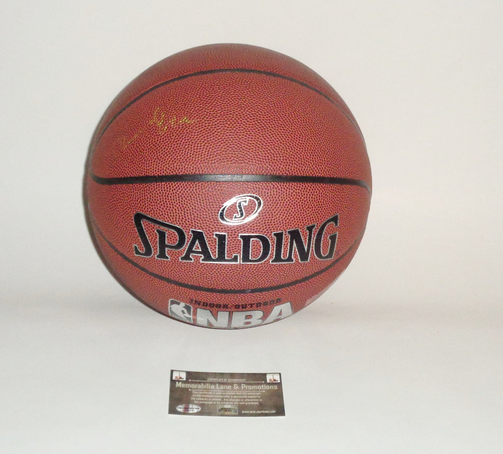 Bernard King KNICKS autograph basketball COA Memorabilia Lane & Promotions