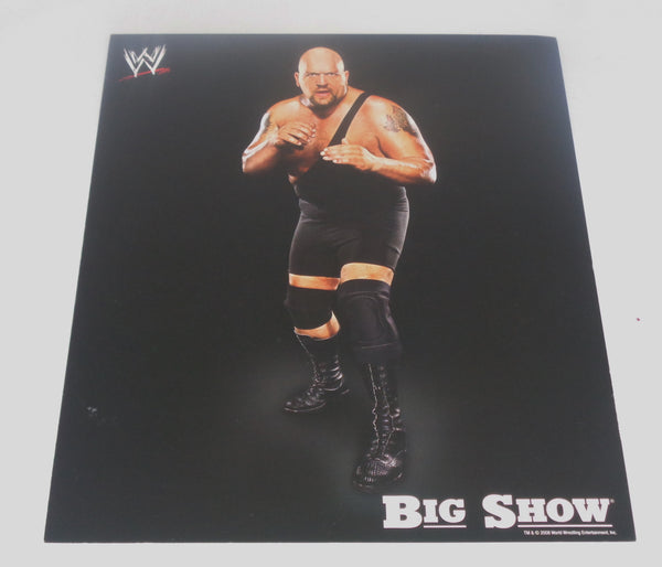 Big Show UNSIGNED 8x10 WWE Memorabilia Lane & Promotions