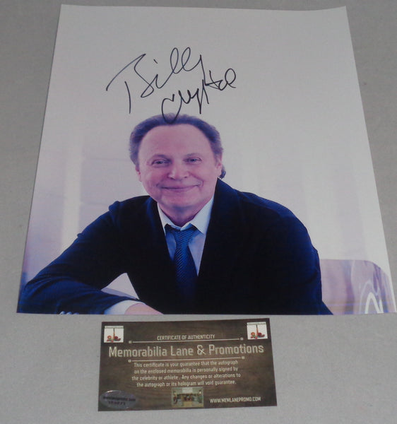 Billy Crystal MONSTERS INC CITY SLICKERS SNL autograph 8x10 COA Memorabilia Lane & Promotions
