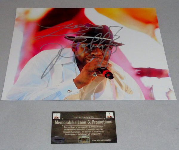 Bobby Brown (NEW EDITION) autographed 8x10 COA Memorabilia Lane & Promotions