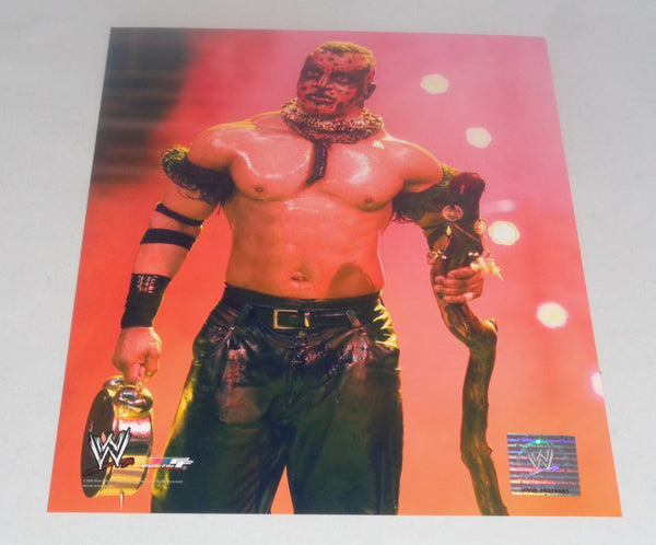 Boogie Man UNSIGNED 8x10 WWE Memorabilia Lane & Promotions