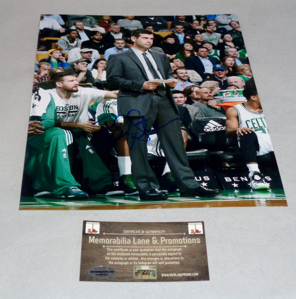 Brad Stevens CELTICS autograph 8x10 COA Memorablia Lane & Promotions